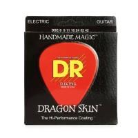 DR Strings DSE-9   Cuerdas Para Guitarra Electrica Dragon Skin Lite K3