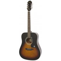 EPIPHONE EA10VSCH1 | Guitarra Acústica DR100 Vintage Sunburst