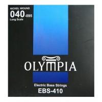 OLYMPIA EBS410 | Cuerdas para Bajo Eléctrico de 4 Cuerdas Calibres 40-95