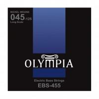 OLYMPIA EBS455 | Cuerdas para Bajo Eléctrico de 5 Cuerdas Calibres 45-125