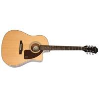 EPIPHONE EE21NACH1   Guitarra Electroacústica AJ-210CE Outfit Natural
