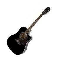 Epiphone EE2SEBNH3 | Guitarra Electroacustica Aj-220sce Negra