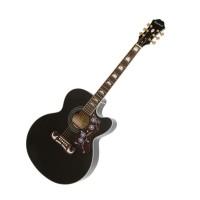 Epiphone EEJ2BKGH1 | Guitarra Electroacustica EJ-200SCE Black