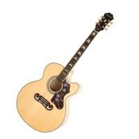 Epiphone EEJ2NAGH1 | Guitarra Electroacustica EJ-200 SCE Natural