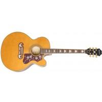 EPIPHONE EEJ2VNGH1 | Guitarra Acústica EJ-200SCE Vintage Natural