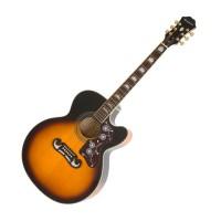 Epiphone EEJ2VSGH1 | Guitarra Acustica EJ-200Sce Vintage Sunburst