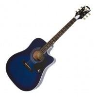 EPIPHONE  EEPUTLCH1 |  Guitarra electroacústica Pro 1 ULTRA TRANSPARENT BLUE