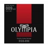 OLYMPIA EGS850 | Cuerdas para Guitarra Eléctrica Super Light Calibres 9-42
