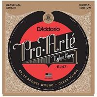 DADDARIO EJ47   Cuerdas de guitarra clásica nylon Pro-Arte tensión normal