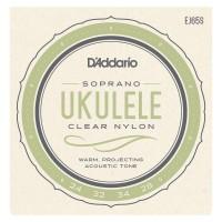 DADDARIO EJ65S   Set de cuerdas de Nailon para ukelele soprano