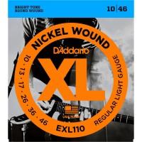 DADDARIO EXL110   Cuerdas para Guitarra Eléctrica Regular Light