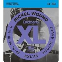 DADDARIO EXL115 | Cuerdas para Guitarra Eléctrica Calibres 11-49