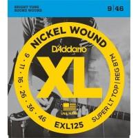 DADDARIO EXL125 | Cuerdas para Guitarra Eléctrica Calibres 9-46
