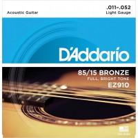 DADDARIO EZ910   Cuerdas para guitarra acústica ligera