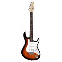 CORT G110-2T | Guitarra Electrica de Doble Cutaway con Funda