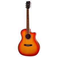 CORT GA-MEDX-LVBS | Guitarra Electroacústica Light Vintage Burst