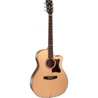 CORT GA10F-NS | Guitarra Electroacústica Grand Regal Natural Satin
