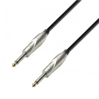 ADAM HALL K3IPP0300   Cable de Instrumento de Jack 6,3 mm mono a Jack 6,3 mm mono 3 m