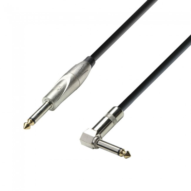 ADAM HALL K3IPR0900 | Cable Instrumento Jack 6.3 Mono a Jack 6.3 Mono 9m