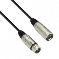 ADAM HALL K3MMF0050 | Cable de Micro de XLR hembra a XLR macho 0,5 m