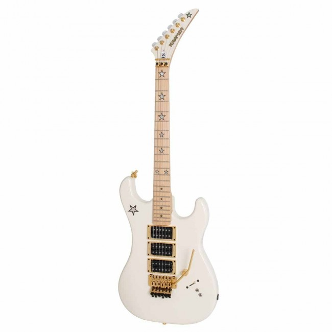 KRAMER KVJSAWGF1 | Guitarra Eléctrica Jersey Star Alpine White