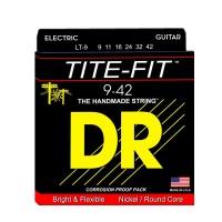 DR Strings LT-9   Cuerdas para Guitarra Electrica Tite Fit