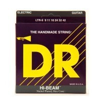 DR Strings LTR-9 | Cuerdas para Guitarra Electrica Hi-Beam Hex Core