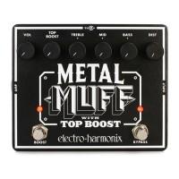 ELECTRO HARMONIX METAL-MUFF | Pedal Big Muff Metal Muff Top Boost