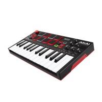 AKAI MPKMINI-PLAY | Mini teclado independiente con altavoz incorporado y controlador MIDI USB