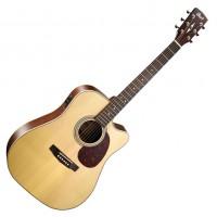 CORT MR600F-NS   Guitarra Electroacústica Natural Satin