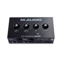 M-AUDIO MTRACKDUO | Interfaz de Audio USB de 2 Canales para MAC y PC