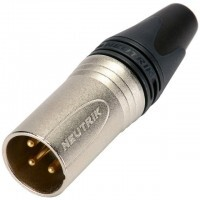 Neutrik NC3MXX | Conector XLR 3 Contactos Macho a Cable