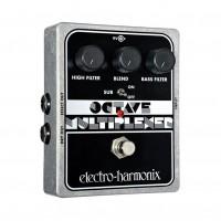 ELECTRO HARMONIX OCTAVE-MULTIPLEXER   Pedal Octave Multiplexer para Guitarra