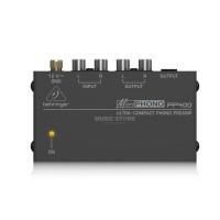 BEHRINGER PP400 | Preamplificador Phono para Tornamesa Ultra Compacto
