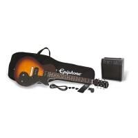 Epiphone PPEG-ENOPVSCH3 | Pack Guitarra Eléctrica Les Paul Vintage Sunburst