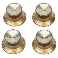 GIBSON PRMK-030 | Set de 4 Botones de Volumen-Tono Dorados