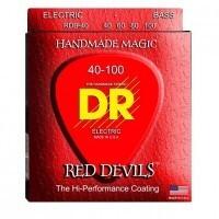 DR STRING RDB-40 | Cuerdas para Bajo de 4 Cuerdas Red Devils Calibres 40-100