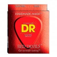 DR STRING RDB5-40 | Cuerdas para Bajo Eléctrico 5 Cuerdas Red Devils Calibres 40-120