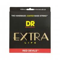 DR STRING RDB6-30 | Cuerdas para Bajo Eléctrico Red Devils Calibres 30-125