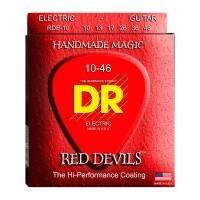DR STRING RDE10 | Cuerdas de Guitarra Electrica Extra Life Calibres Calibres 10-46