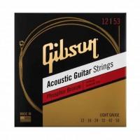 GIBSON SAG-PB12   Cuerdas de Guitarra Acústica de Bronce Fosforado Calibres 12-53