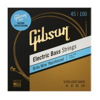 GIBSON SBG-LSUL | Cuerdas para Bajo Eléctrico de 4 Cuerdas Calibres 45-100