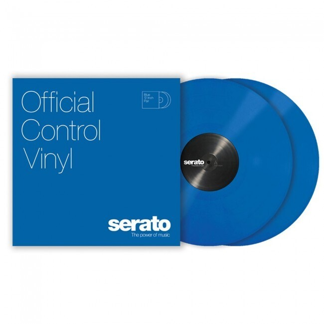 "Serato SCV-PS-BLU-10 | Vinilo de Control para Serato Scratch Live o DVS 10"" Azul"