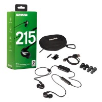 SHURE SE215-K-UNI | Audifonos In Ear de Monitoreo Negros