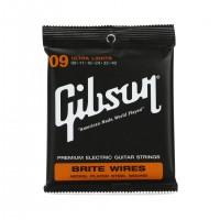 GIBSON SEG-700UL | Cuerdas para Guitarra Eléctrica Ultra Lights Calibres 9-42
