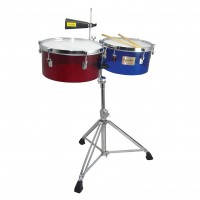 "TYCOON TTI-1314-ACRC  | Timbales 13 & 14"" Standard Depth Timbales"