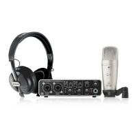 BEHRINGER U-PHORIA-PRO | Kit de Grabación UMC202HD + C1 + HPS5000