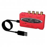 BEHRINGER UCA222 | Interfaz de Audio USB de 2 Entradas / 2 Salidas de Ultra Baja Latencia con Salida Digital