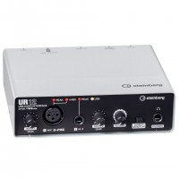 STEINBERG UR12 | Interfaz de audio USB 2x2 con 1x D-PRE y Soporte 192 kHz