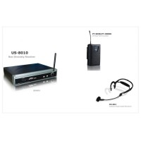 JTS US8010-PT900B-CX504 | Sistema de Micrófono Inalambrico Vincha